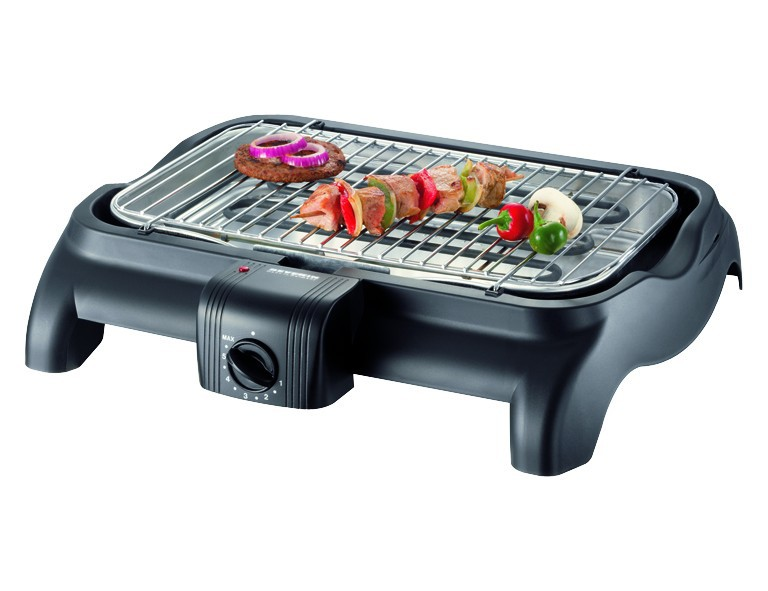 Severin PG 1511 Barbecue-Grill schwarz