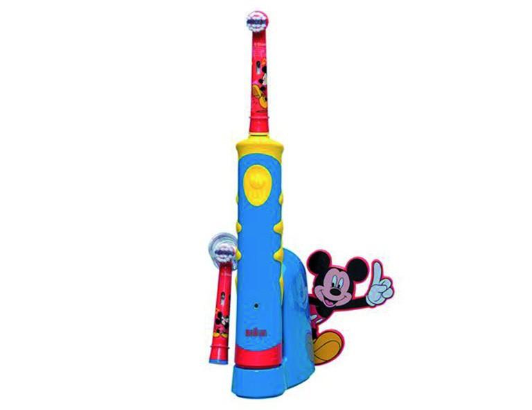 Braun AdvancePower kids 950TX elektrische Zahnbürste blau-gelb