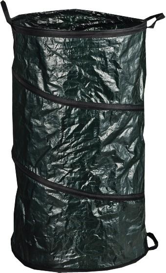 BREMA 140426 PE-Gartenabfallsack grün mit Tragegriff, 160ltr