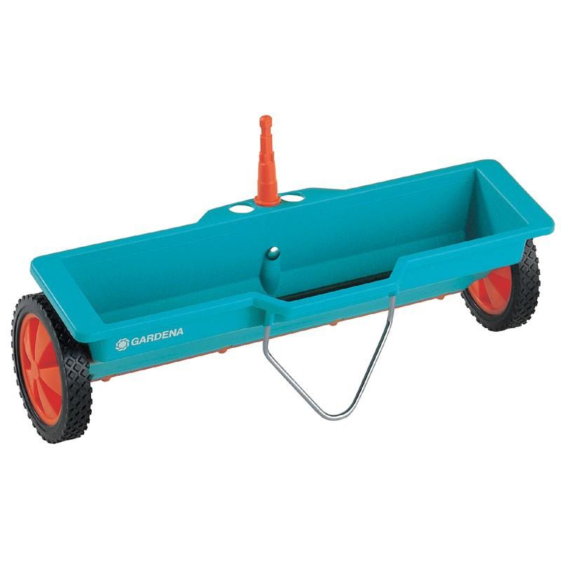 Gardena cs Streuwagen - Gardena cs Streuwagen zur Rasenpflege mit Gardena Streuwagen Einstellung