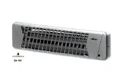 Heller Quarzstrahler QS 180 Farbe: silber
