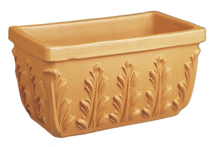 Balkonkasten -Blatt Terracotta- - ø 30 cm