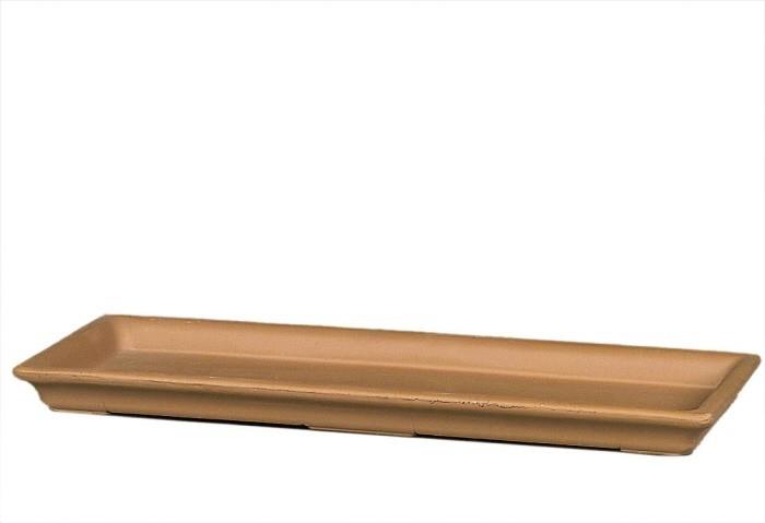 Balkonkasten-Untersetzer - Terrakotta natur - ø 30 cm