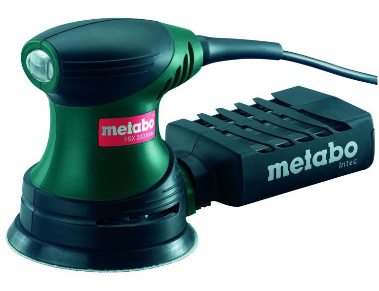 Metabo 240-Watt-Fäustlingsexzenterschleifer FSX 200 Intec (FSX20