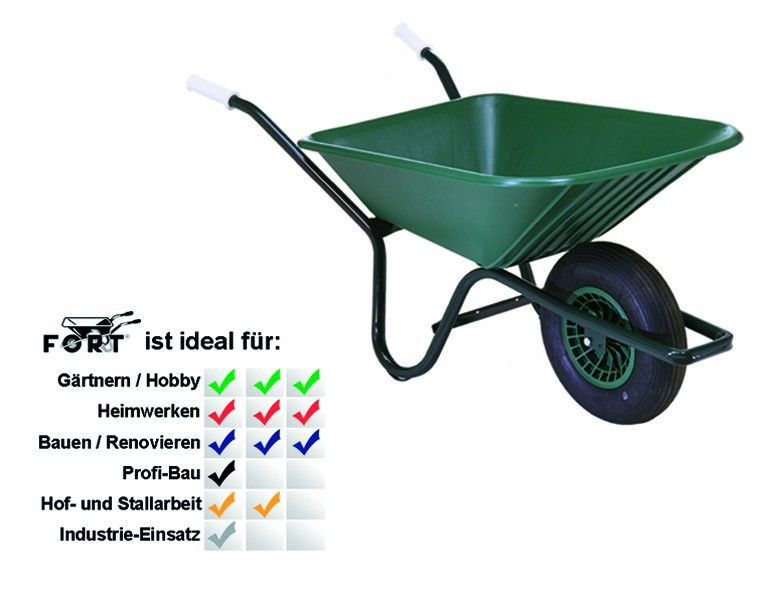 ALTR.-FORT Gartenkarre 90 Liter