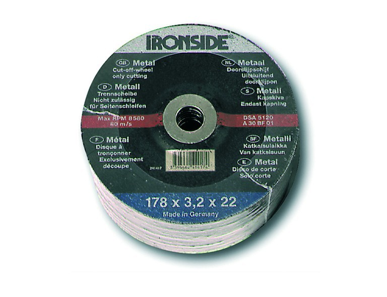 Ironside Trennscheibe für Metall 115 x 2,5 mm