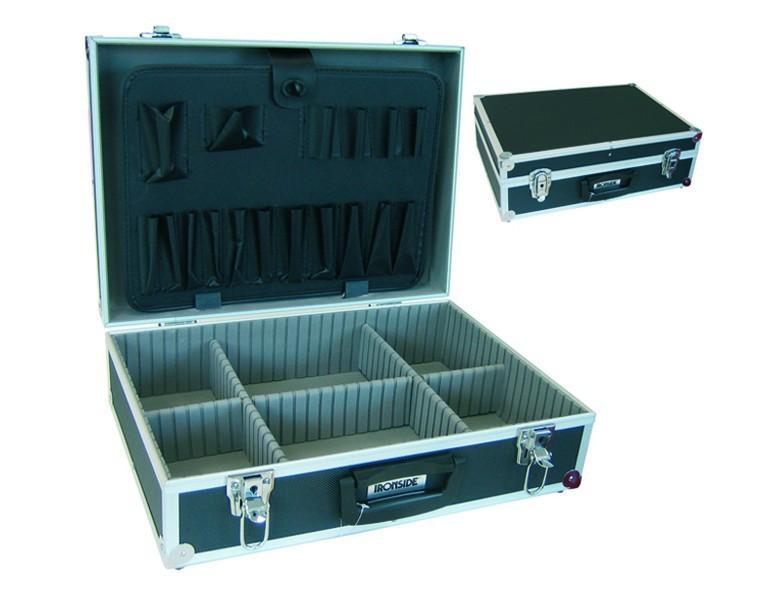 Ironside Alu Werkzeugkoffer schwarz