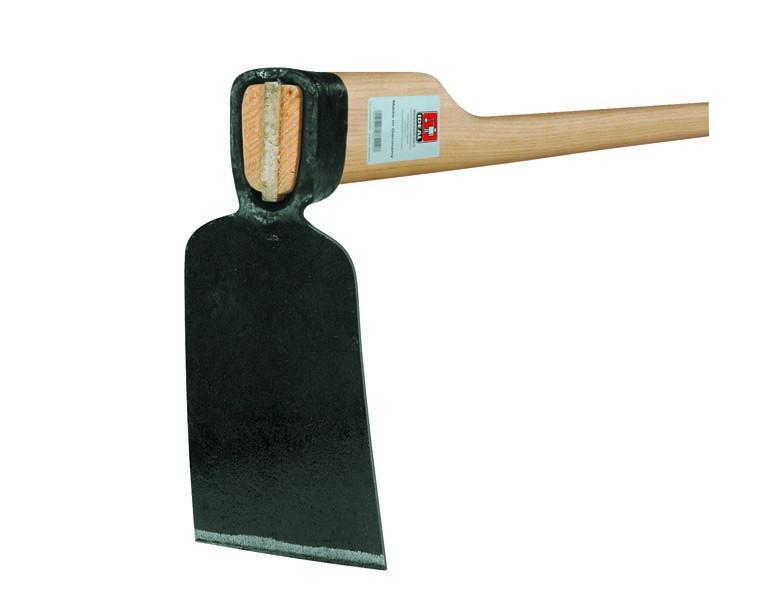 Ideal Ersatzstiel f. Rheinische Hacke 135 cm, Eschenholz