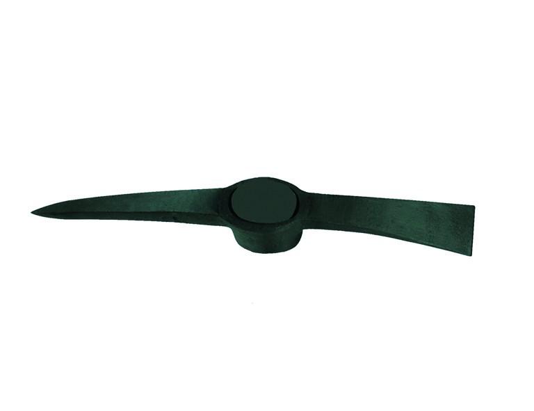 Ideal Kreuzhacke 2,5kg ohne Stiel, schwarz lackiert