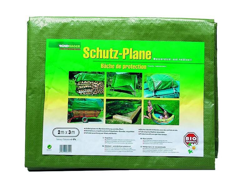 Windhager PE-Schutzplane, 8x10 m Farbe: grün