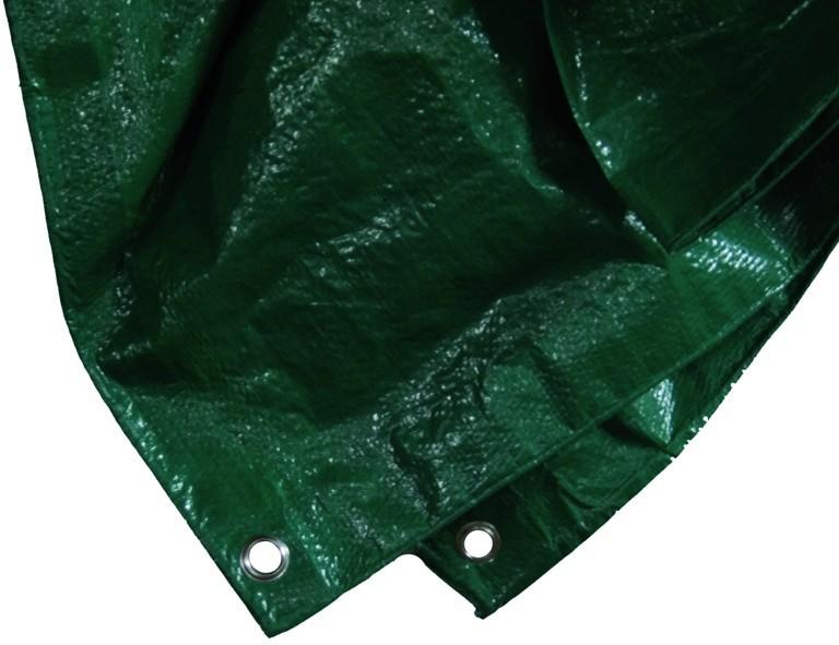 Siena Garden PE-Schutz-Plane 6 x 8m grün grün