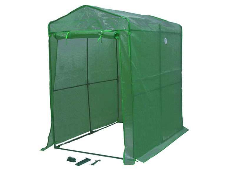 Siena Garden Tomaten-Gewächshaus 190x125x190cm PE-Gitterfolie 125gr/qm