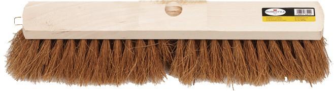 Saalbesen R: 2,4 cm Kokos mit 1 Stielloch