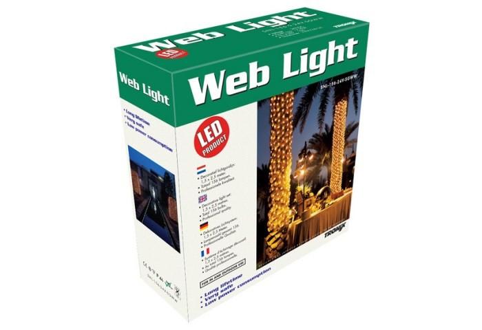 LED-Lichternetz 406 LED`s