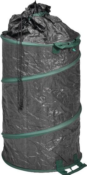 PE-Gartenabfallsack 160 L grün