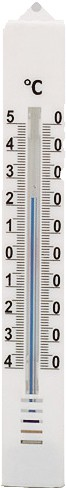 STAR Zimmerthermometer Ku. ws. 180x25mm