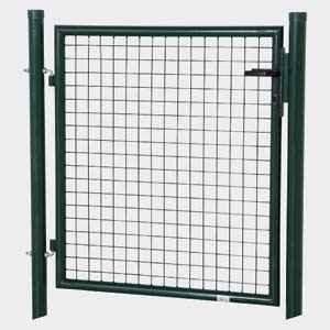 AGROFER Gartentor 1250x1000 grün Aktion 50x50 RAL6005