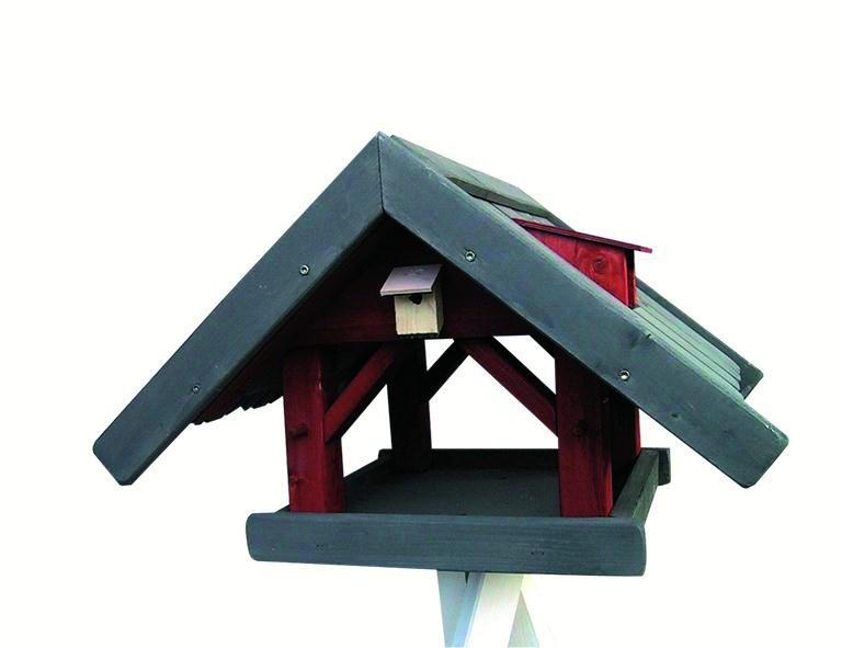 H.G. Vogelfutterhaus Nr.77 mit Dreibeinständer