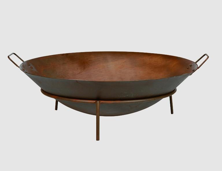 Siena Garden Feuerschale Rusty D:70cm mit Griffen