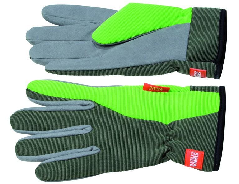 SIENAGARDG Spandex Handschuh Gr. 9 Polyester, mit SB-Karte