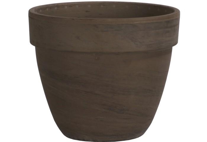Pflanztopf -LEVANTE- basalt r innen 24 cm, r außen 26 cm