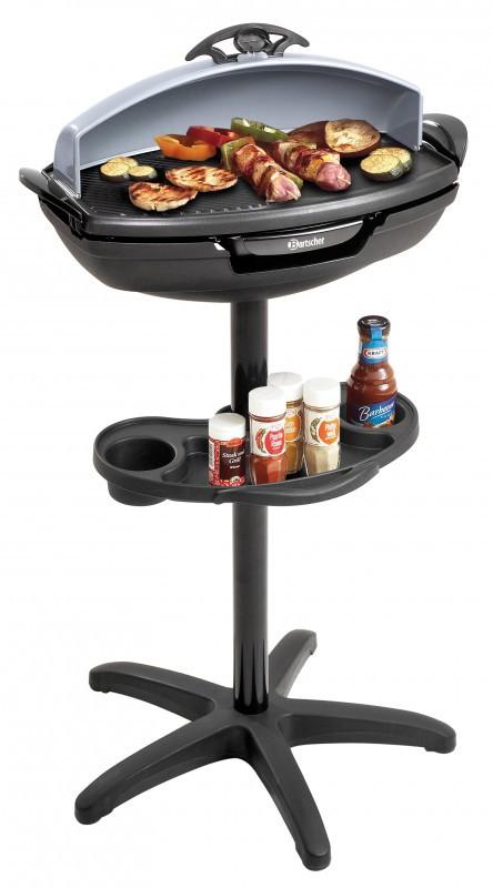 Elektrogrill Standgrill, Barbecue Grill, Tischgrill von Bartscher