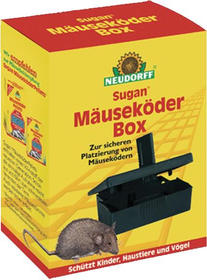 Sugan MäuseköderBox, Neudorff, Packung, 1 Stück