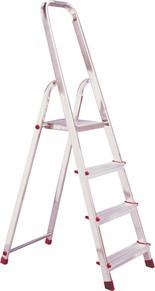 Stufen Stehleiter Alu, 3 Stufen Leiter