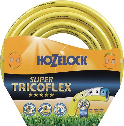 Tricoflex 00110214 Wasserschlauch 1,3 cm (0,5 Zoll) 30 m Rolle gelb