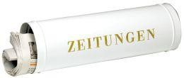 Zeitungsbox 800 silber