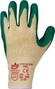 Handschuh ´´SpecialGrip´´, Kautschuk,Gr.10,grün