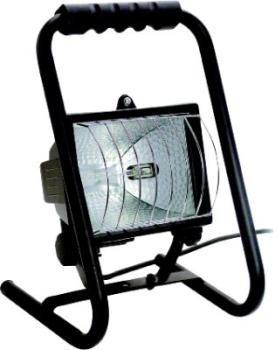 Mobiler Heimwerker - Strahler mit 400 Watt, schwarz, IP 54
