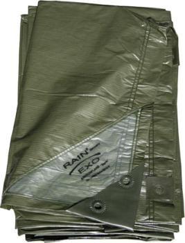 Rainexo-Abdeckplane grün, 90g/m?, 3x4 m