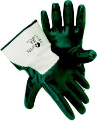 Handschuh Mechanic blue, Nitril, Stulpe, Gr.10, FORTIS