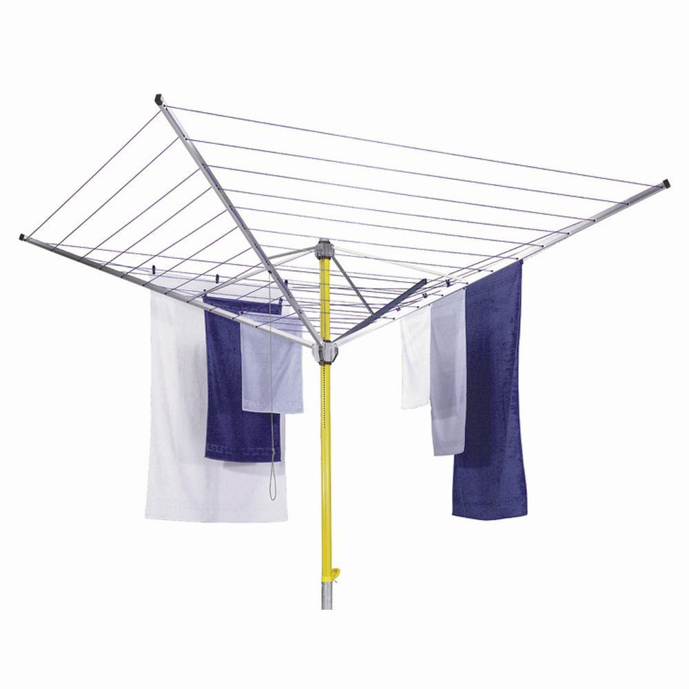 Stewi Wäschespinne DE LUXE Wäscheleine: Länge 60 Meter aus Polyester