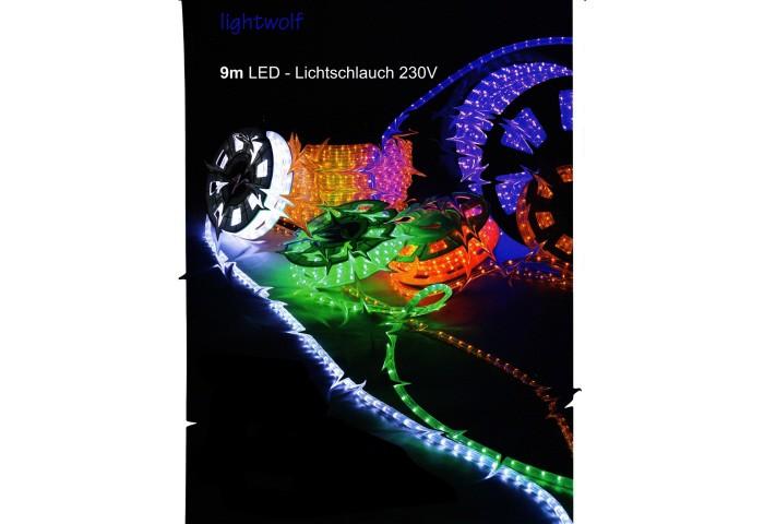 LED-Lichtschlauch warm-weiss