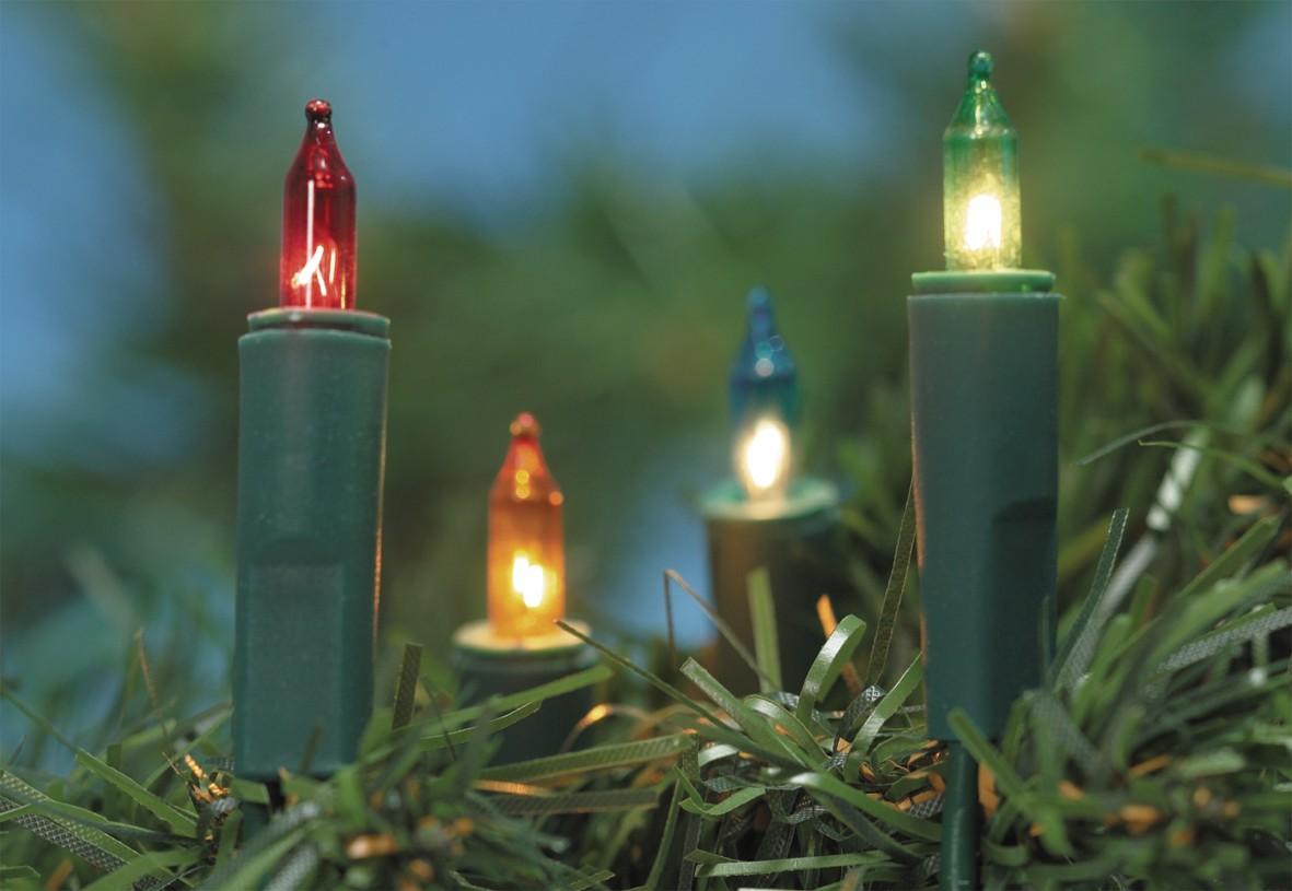 Mini-Lichterkette, bunt 9,80 Meter