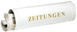 Zeitungsbox - Wetterfest weiß 800