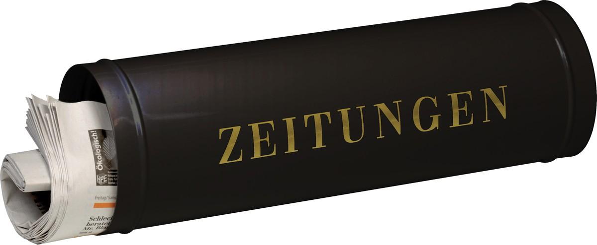 Burg-Wächter Zeitungsbox - Wetterfest schwarz 800 Model 800 S