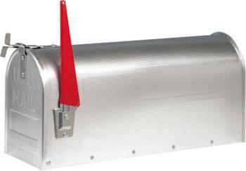 Burg-Wächter Briefkasten ORIGINAL U.S.MAILBOX aluminium Model 892 ALU