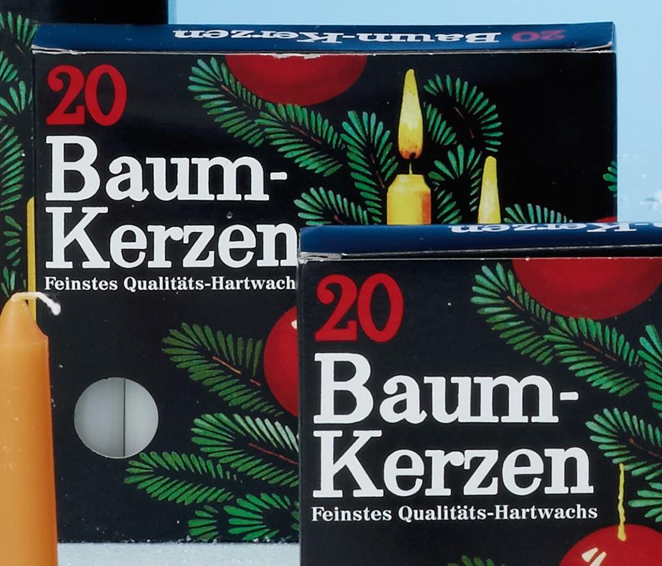 Steinhart Kerzen Baumkerzen