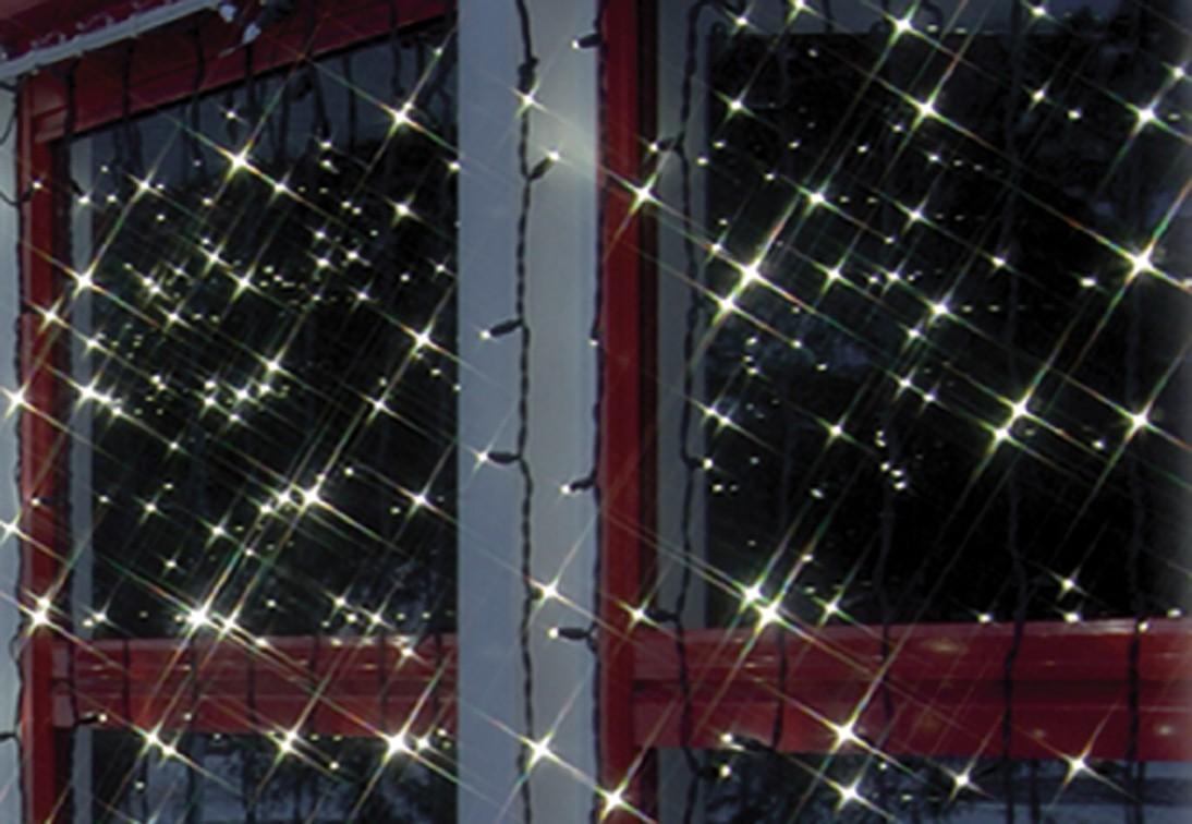 Unimet Lichtervorhang, ohne Startkabel, 102-teilig, wei�