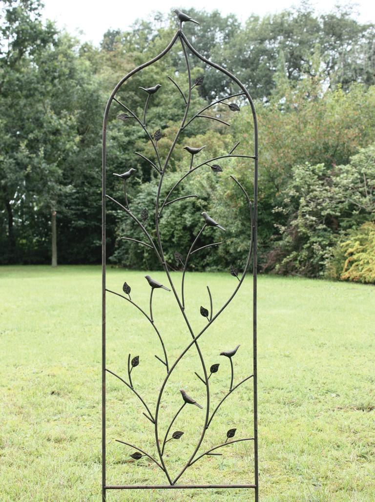 Metall-Spalier Vogel 45x152 cm