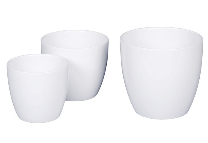Scheurich Keramik SCHEURICH Übertopf -Alaska weiß- 920 -