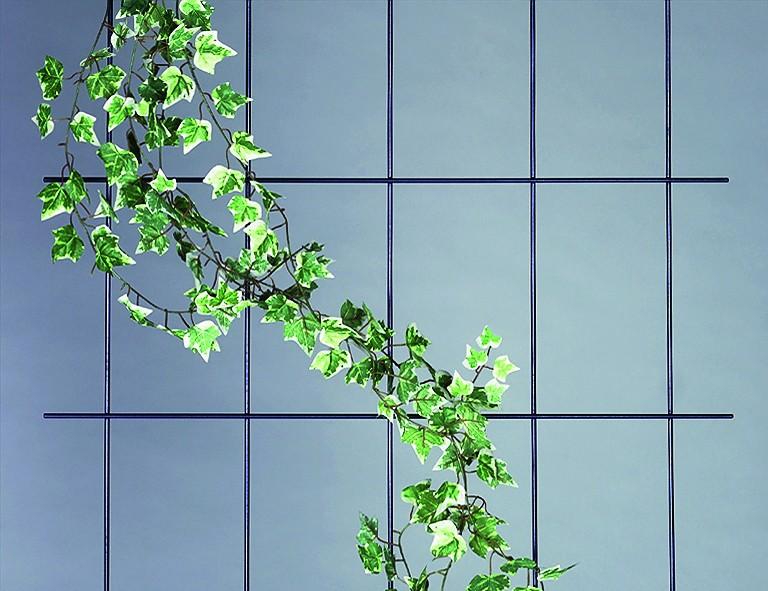 Siena Garden Wandspalier ca. 150x75 cm braun, 5-strebig, mit SB-Reiter