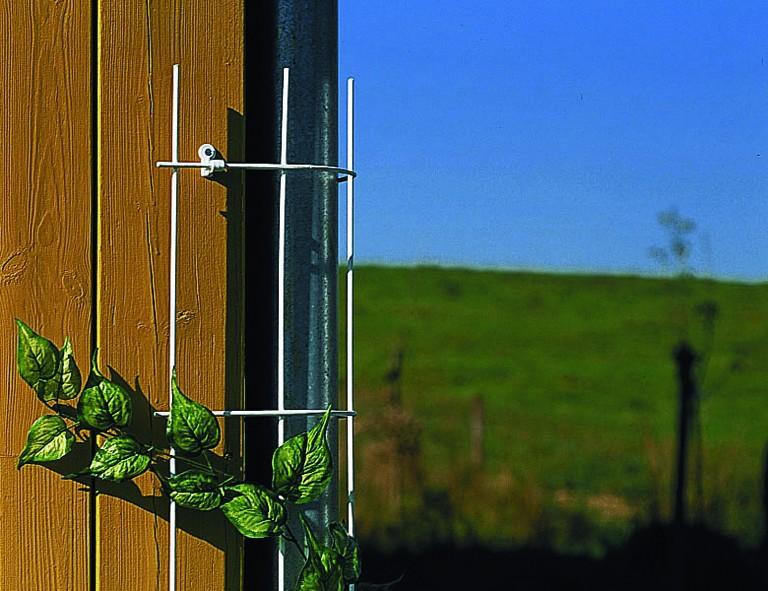 Siena Garden Fallrohrspalier ca. 150 cm, bis 150 mm Durchmesser, weiß