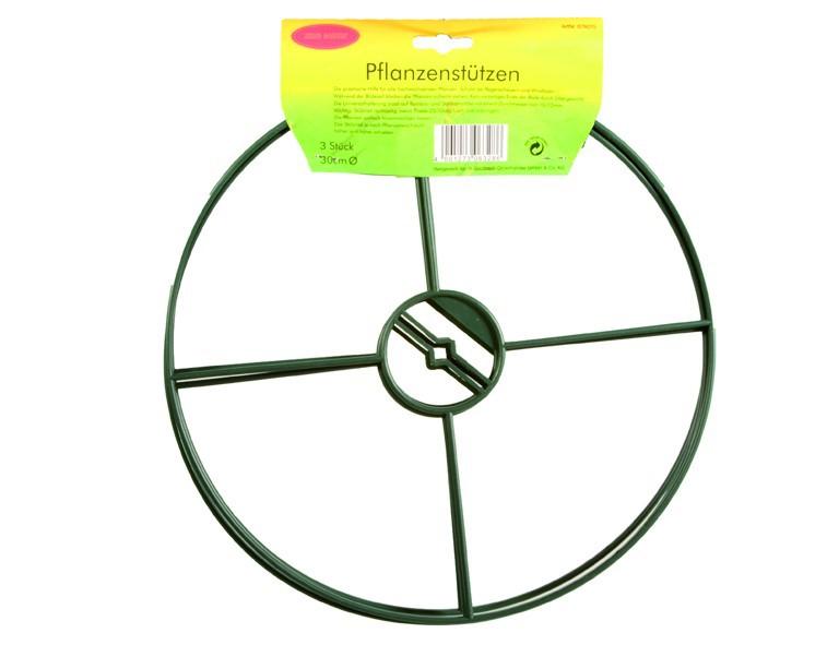 Siena Garden Staudenhalter, 30cm Durchmesser 3er-Pack