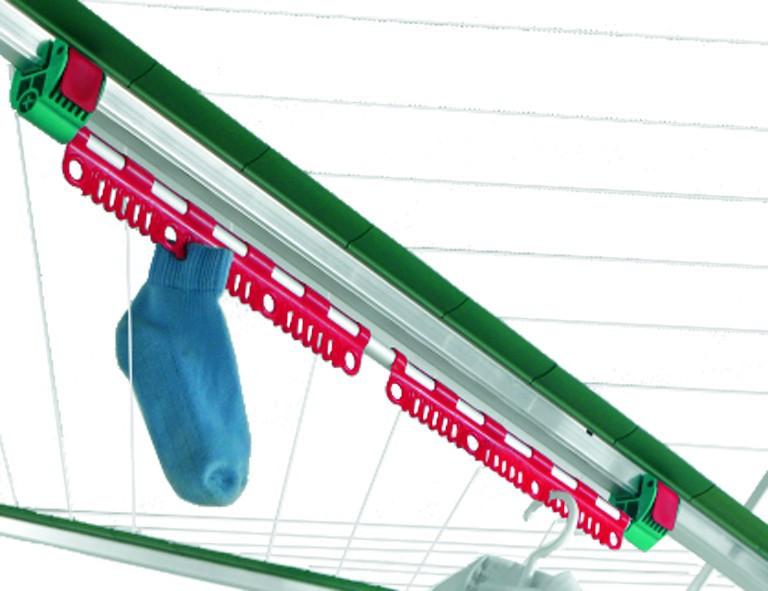 Leifheit Kleinteilehalter Easy Clip f�r Linomatic-W�schespinnen