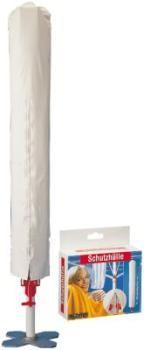 Schutzh�lle 175 x 34 cm wei� f�r W�schespinnen 15200