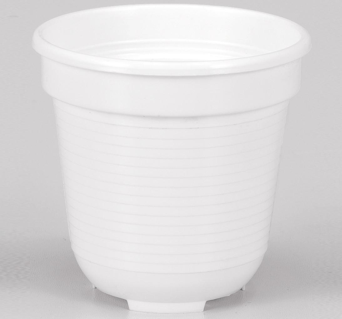 Blumentopf Standard, R x H: 18 x 15,5 cm, weiß